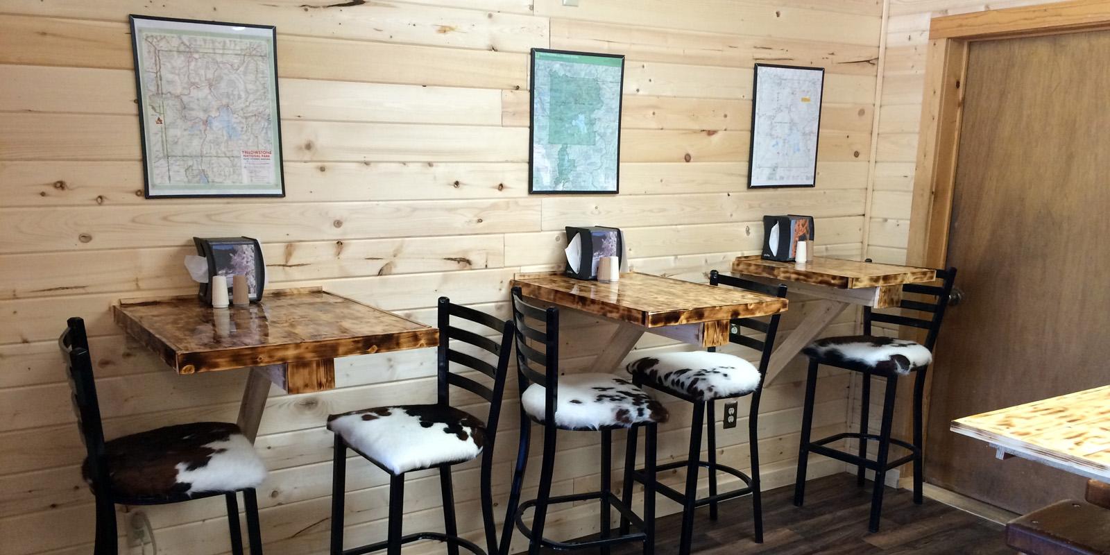 Ernies Dining Area